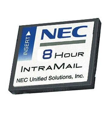 New NEC DSX IntraMail 4 Port 8 Hour VoiceMail 1091011 714627136225