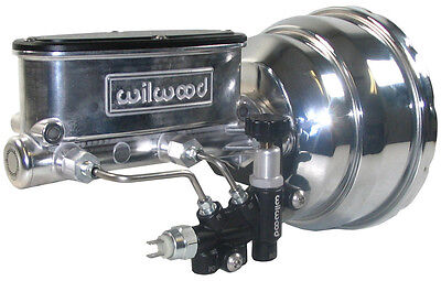 New Power Brake Booster & Wilwood Polished Master Cylinder & Valve,55-64 Chevy