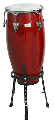 Artist CG10 Red Conga Drum - 10 Inch + Stand - New