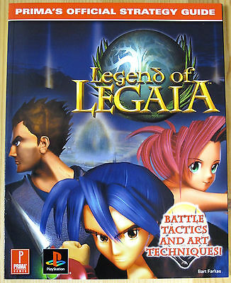 Legend of Legaia - Prima's Official Strategy Guide - Guida - New