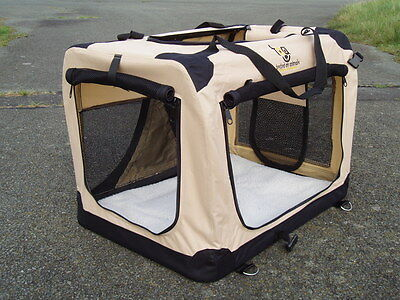 Dog Crate for Car with Vehicle Isofix Anchors all sizes