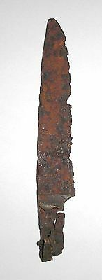 Old Antique Iron Artifact, knife blade