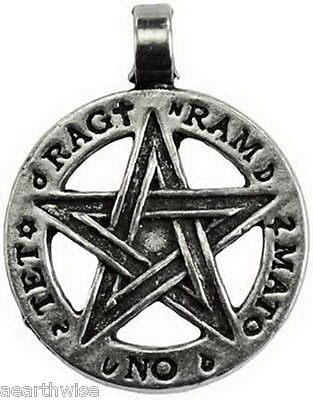 DIVINE PROTECTION TETRAGRAMMATON PENDANT WITH CORD Wicca Pagan Witch Spell Goth