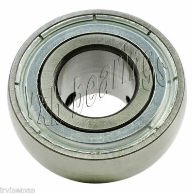 "ZUC208-24 Zinc Chromate Plated Insert 1 1/2"" Bore Ball Bearings Rolling"