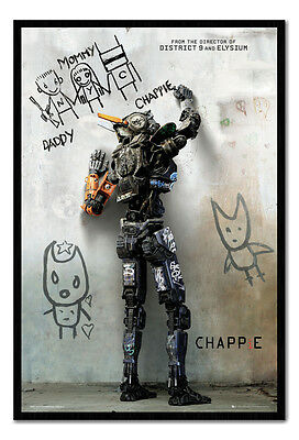 Framed Chappie Film Movie Teaser Poster New
