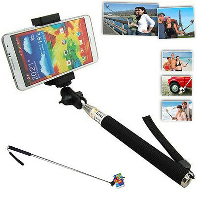 Extendable Self Portrait Selfie Handheld Stick Monopod for iPhone 6 5S Samsung