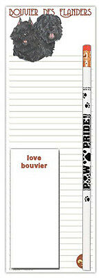 Bouvier Notepad & Pencil Gift Set