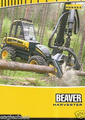 Equipment Brochure - Ponsse - Beaver - Logging Harvester - French c2006 (E2089)
