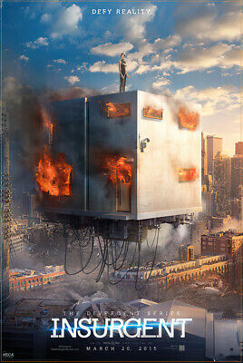 "INSURGENT - MOVIE POSTER / PRINT (TEASER - DEFY REALITY) (SIZE: 24"" x 36"")"