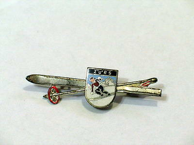 Zurs ski Resort Austria Skiing Pin  (#504)
