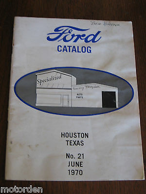 interesting 1970 Ford T & A restorer Auto catalog/price list 44 pages, FREE POST