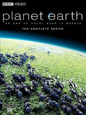 Planet Earth - The Complete Collection (DVD, 2007, 5-Disc Set) NEVER WATCHED!!