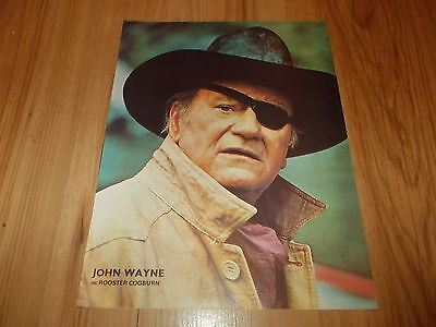 John Wayne as Rooster Cogburn-1975 magazine picture