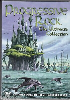 PROGRESSIVE ROCK - THE ULTIMATE COLLECTION - Uriah Heep, Wakeman u.a.(DVD, OVP!)