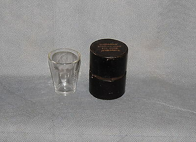 Antique Medicine Glass And Minim Measures In Box