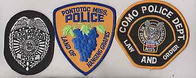 Como MISS Police Department patch
