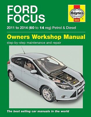Haynes Ford Focus Benzina E Diesel 2011 - 2014 Manuale 5632 NUOVO