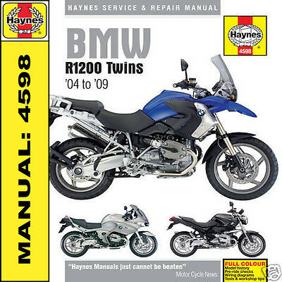 BMW R1200 GS R RT ST Coppia 2004-2009 Manuale Haynes NUOVO