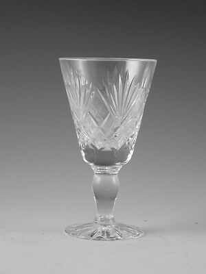 Royal DOULTON Crystal - JUNO Cut - Sherry Glass / Glasses - 4 1/4""