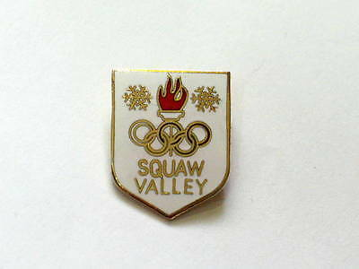 Squaw Valley Skiing Pin  (#536)
