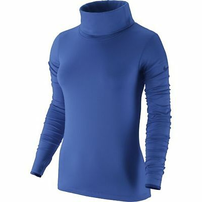 Nwt Wmn Nike 620415 -439 Dri Fit Pro Hyperwarm Infinity Training Top  $65