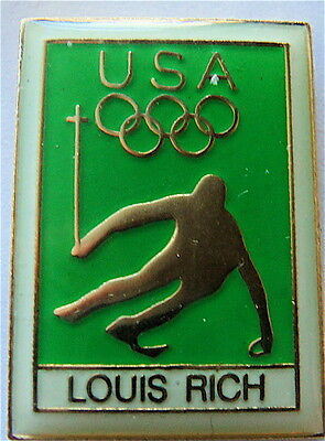 ALPINE SKIING LOUIS RICH SPONSOR WINTER OLYMPIC GAMES