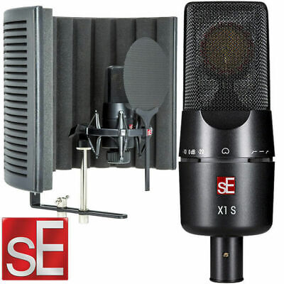 sE Electronics X1 Studio mic pack Condenser Microphone Vocal Booth Bundle