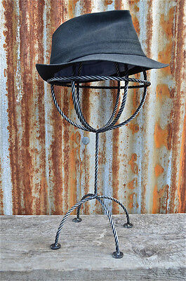Stylish Unusual Metal Hat Stand Hat Holder Rack Wig Stand