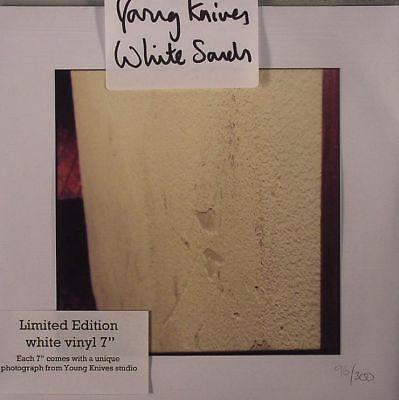 """YOUNG KNIVES - White Sands - Vinyl (7"""")"""