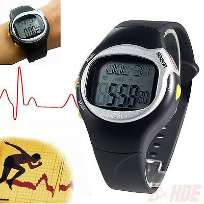 Fitness Sport Pulse Watch with Heart Rate Monitor and Weightloss Calorie Counter