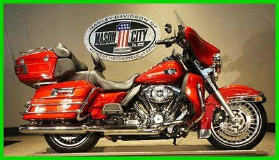 Harley-Davidson : Touring 2012 flhtcu electra glide ultra classic ember red sunglo watch our video