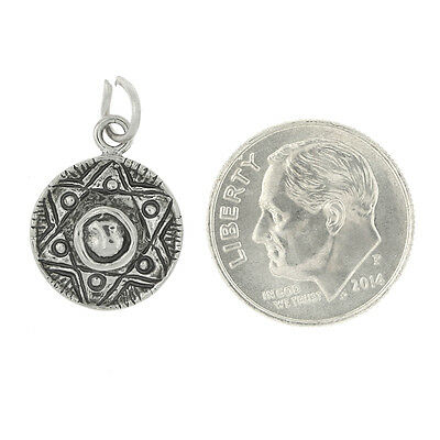 Sterling Silver Garden Hat Charm Or Pendant