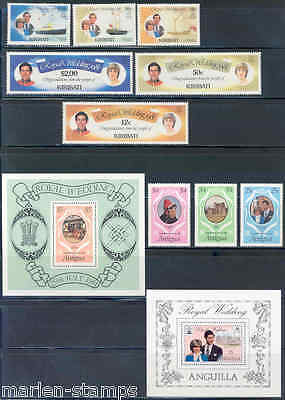 British Commonwealth Royalty Lot Of Stamps Mint Nh As Shown