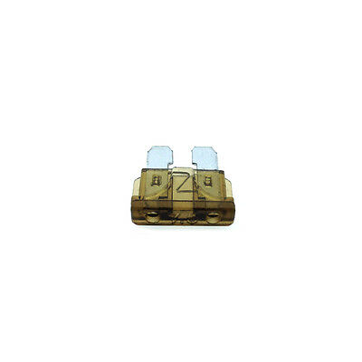 7.5A Standard Car Auto Blade Fuse 7.5 Amp Brown ATO - Pack of 10