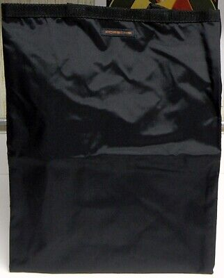 "Porsche 31585 Go Green Grocery Black Bag 9"" x 12"" x 15"""