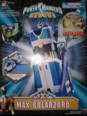 Power Rangers Lightspeed Rescue Deluxe Max Solarzord Megazord By Bandai (MISB)