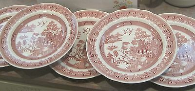 5 Spode Archive Collection Georgian Series WILLOW Dinner Plates