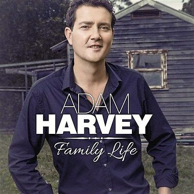ADAM HARVEY Family Life (Personally Signed by Adam) CD NEW