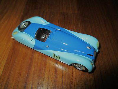 nice rare 1/43 factory built VROOM Bugatti 57 S45 Monthley Test 1937 #14 look