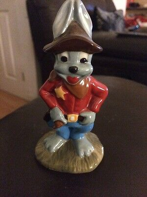 Wade Arthur Hare The Shareriff Limited Edition with Certificate - Rare & Perfect