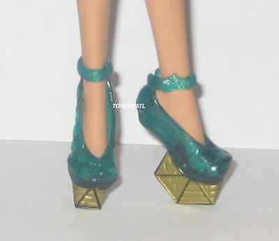 Monster High Ghouls Rule Cleo De Nile Doll Outfit Shoes ONLY NEW Platform Heels