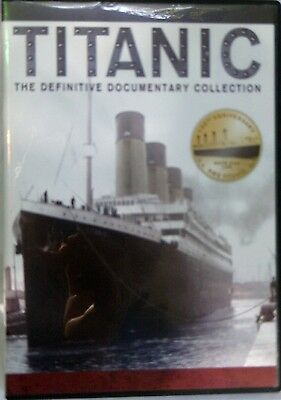 2 DVD Set TITANIC The Definitive Documentary Collection Captain Smith Echoes