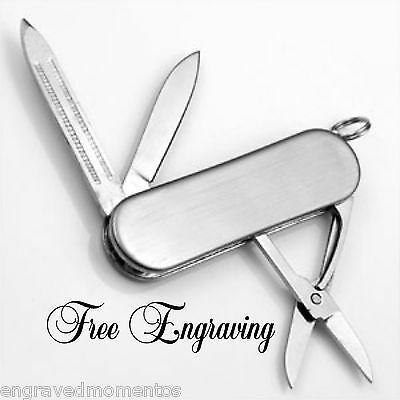 Personalized Groomsman/Best Man 3 Tool Pocket Knife Gift - Engraved Free