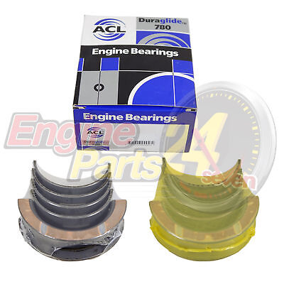 Ford 302 351 Cleveland Main Bearings 1 Set Acl 5M2107 In Std 010 020 You Choose