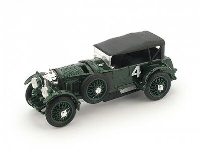 BRUMM BRUR100 - Bentley Speed Six #4 1er 24H du Mans capote fermé 1930  1/43