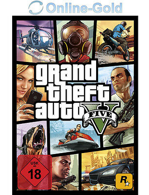 Grand Theft Auto V 5 Key - GTA 5 - PC Spiel Download Game Code [DE][EU][PC][NEU]