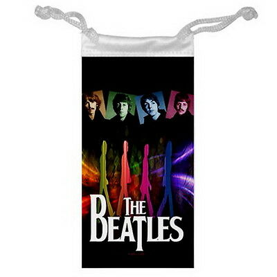 "THE BEATLES Jewelry Bag or Glasses Cellphone Money for Gifts size 3"" x 6"" NEW"