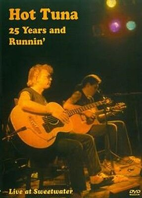 Hot Tuna 25 Years & Runnin' Live At The Sweetwater DVD NEW!