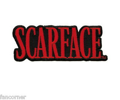 Scarface ecusson officiel Tony montana logo scarface official embroidered patch