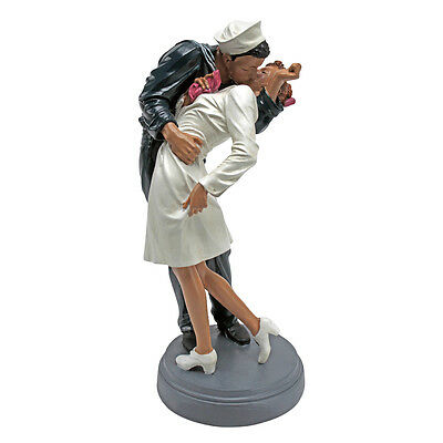 World War II  Sailor & American Nurse The Kiss Statue Romantic Sculpture Small